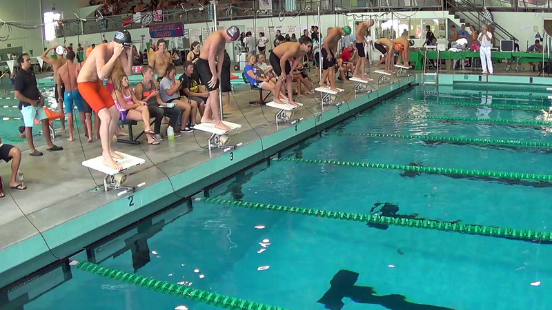 Men's 500 Freestyle Heat 2 - 2014 CCCA Swimming and Diving State Championships