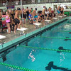 Men's 500 Freestyle Heat 4 - 2014 CCCA Swimming and Diving State Championships