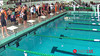 Women's 100 Backstroke A Final - 2014 CCCA Swimming and Diving State Championships
