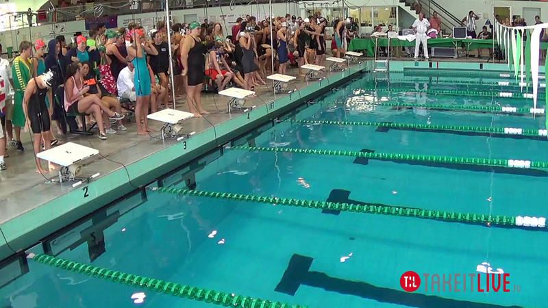 Women's 400 Freestyle Relay A Final - 2014 CCCA Swimming and Diving State Championships