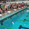 Men's 200 Free Relay Heat 2 - 2014 CCCA Swimming and Diving State Championships