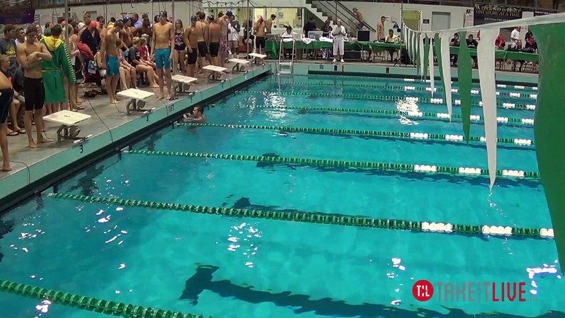 Men's 800 Freestyle Relay A Final - 2014 CCCA Swimming and Diving State Championships