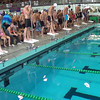 Men's 200 Free Relay Heat 1 - 2014 CCCA Swimming and Diving State Championships