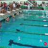 Women's 100 Backstroke Heat 1 - 2014 CCCA Swimming and Diving State Championships