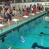 Women's 500 Freestyle Heat 3 - 2014 CCCA Swimming and Diving State Championships