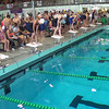 Women's 200 Free Relay Heat 2 - 2014 CCCA Swimming and Diving State Championships