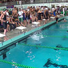 Women's 400 Medley Relay Heat 2 - 2014 CCCA Swimming and Diving State Championships