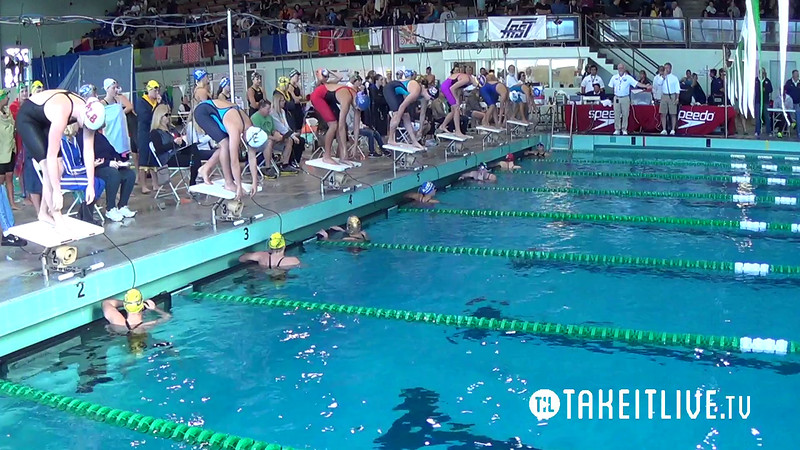 E25 Heat 7 Women's 100yd Freestyle - 2014 CA/NV Winter Sectionals - East Los Angeles College - Meet Host: FAST - Coverage By: Liveswim Channel Powered by Takeitlive.tv