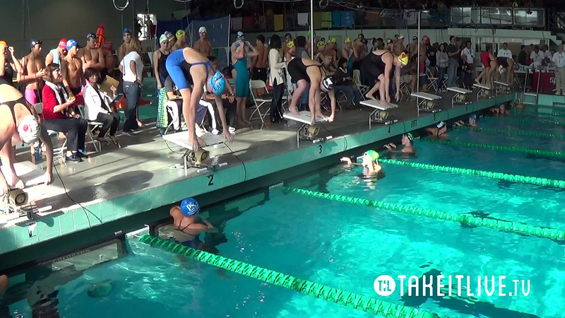 E21 Heat 17 Women's 50yd Freestyle - 2014 CA/NV Winter Sectionals - East Los Angeles College - Meet Host: FAST - Coverage By: Liveswim Channel Powered by Takeitlive.tv
