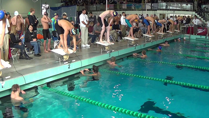 E04 Heat 11 Men's 100yd Butterfly - 2014 CA/NV Winter Sectionals - East Los Angeles College - Meet Host: FAST - Coverage By: Liveswim Channel Powered by Takeitlive.tv
