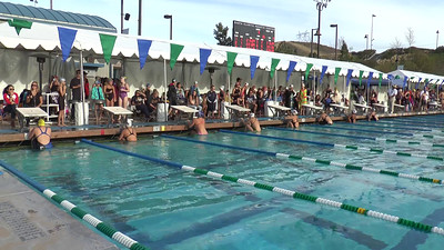 Girl's 200 Backstroke Heat 5