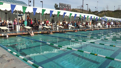 Girl's 200 Backstroke Heat 2