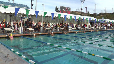 Girl's 200 Backstroke Heat 4