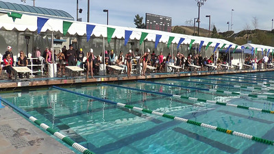 Girl's 200 Backstroke Heat 1