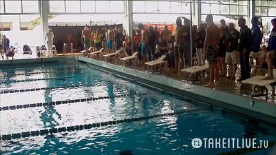Event 6  Men 500 Yard Freestyle - Heat 3