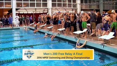 Event 14  Men 200 Yard Freestyle Relay - A Final