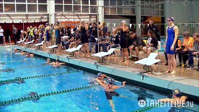 15 Womens 400 Medley - A Final