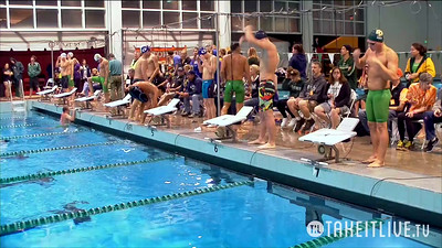 16 Mens 400 Medley - A Final
