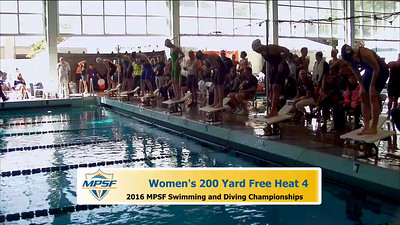 19 Womens 200 Freestyle - Heat 4