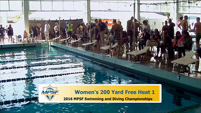 19 Womens 200 Freestyle - Heat 1