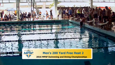 20 Mens 200 Freestyle - Heat 2