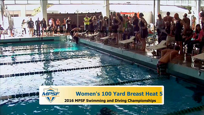 21  Womens 100 Butterfly - Heat 1
