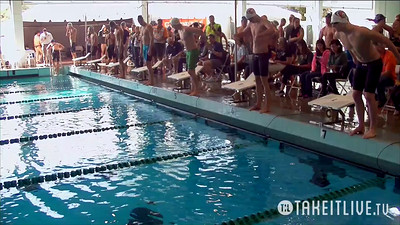 24 Mens 100 Backstroke - Heat 1