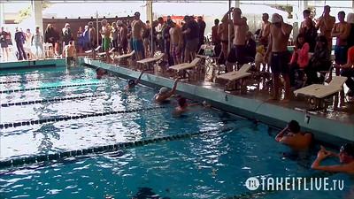 24 Mens 100 Backstroke - Heat 4