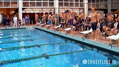 24 Mens 100 Backstroke - B Final