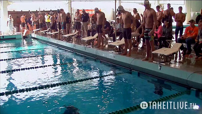24 Mens 100 Backstroke - Heat 3