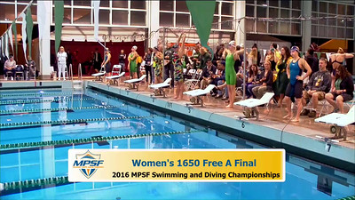 29 Womens 1650 Freestyle - A Final