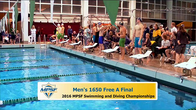 30 Mens 1650 Freestyle - A Final