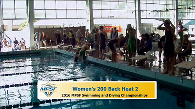 31 Womens 200 Backstroke - Heat 2