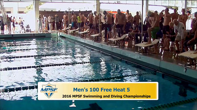 34 Mens 100 Freestyle - Heat 5