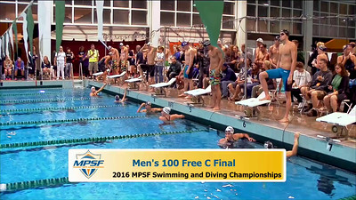 34 Mens 100 Freestyle - C Final