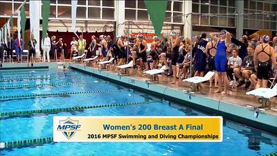 35 Womens 200 Breaststroke -  A Final