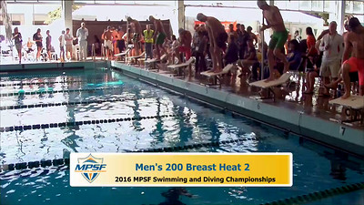 36 Mens 200 Breaststroke - Heat 2