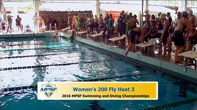 37 Womens 200 Butterfly - Heat 3