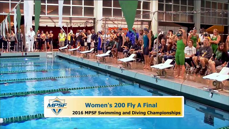 37 Womens 200 Butterfly - A Final