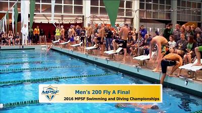 38 Mens 200 Butterfly - A Final