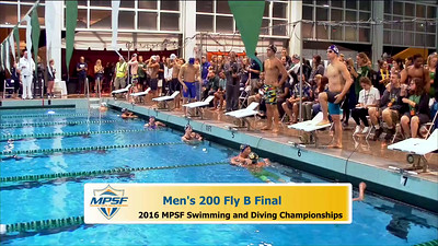 38 Mens 200 Butterfly -  B Final