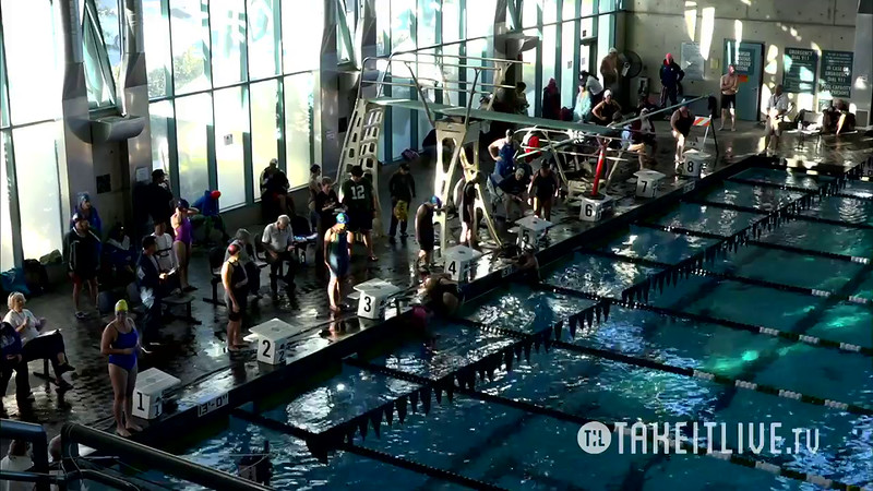 Heat 2 | 4 Women 100 Free | 2016 SPMS Short Course Meters Championship | VIDEO
