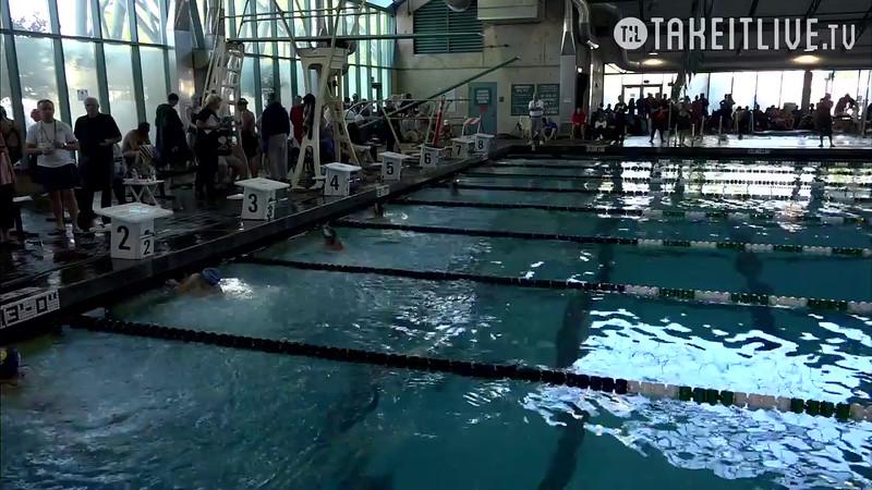 Heat 6 | 14 Women 100 Back | 2016 SPMS Short Course Meters Championship | VIDEO