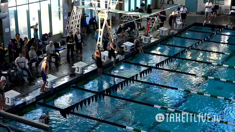 Heat 3 | 6 Women 200 Back | 2016 SPMS Short Course Meters Championship | VIDEO