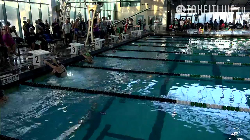 Heat 5 | 34 Women 50 Back | 2016 SPMS Short Course Meters Championship | VIDEO