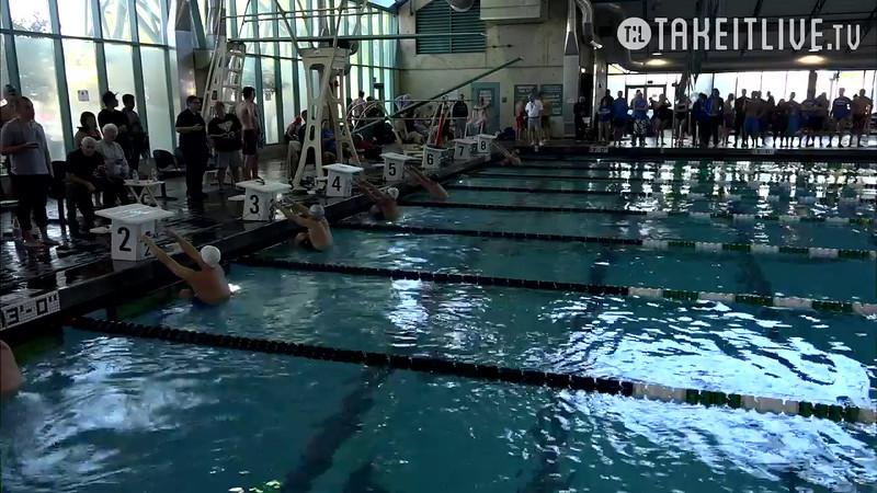 Heat 7 | 15 Men 100 Back | 2016 SPMS Short Course Meters Championship | VIDEO