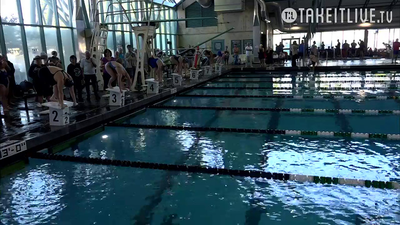 Heat 3 | 25 Women 100 Fly | 2016 SPMS Short Course Meters Championship | VIDEO