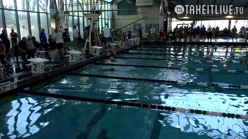 Heat 1 | 14 Women 100 Back | 2016 SPMS Short Course Meters Championship | VIDEO