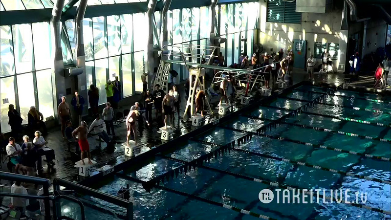 Heat 3 | 5 Men 100 Free | 2016 SPMS Short Course Meters Championship | VIDEO