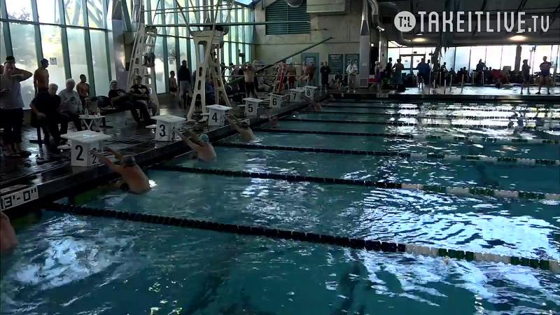 Heat 3 | 15 Men 100 Back | 2016 SPMS Short Course Meters Championship | VIDEO